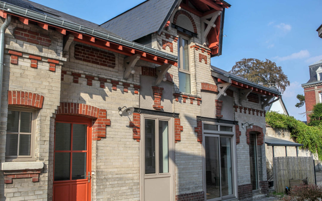 Réhabilitation de maison individuelle à Rouen